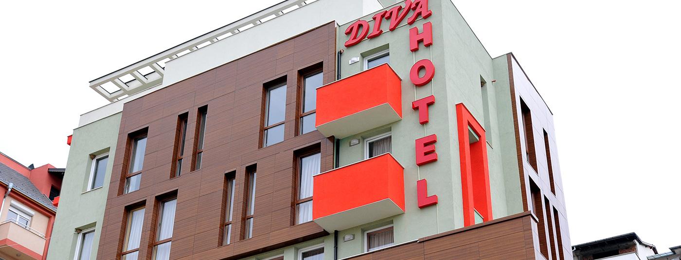 Добре дошли в Хотел ДИВА