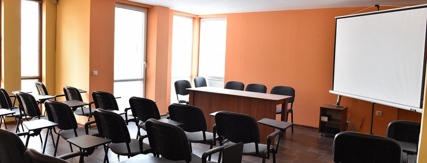Модерно оборудвана конферентна зала